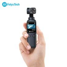 Карманная камера Feiyu Feiyutech, 3 осевая 4K HD ручная карданный Стабилизатор камеры телефона, стабилизатор Wi Fi, широкий угол управления