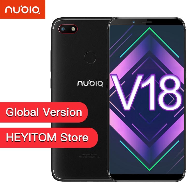 "Globale ZTE Nubia V18 EU Version UI 5,1 Handy 4GB + 64GB 6,01 ""Snapdragon 625 Octa core 18: 9 volle Bildschirm Gesicht ID 4000mAh 13MP-in Handys aus Handys & Telekommunikation bei AliExpress - 11.11_Doppel-11Tag der Singles 1"