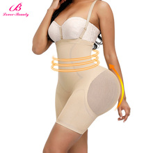 Body-Shaper Tummy Underwear Hip-Butt-Lifter Seamless Slimming High-Waist Lover Beauty