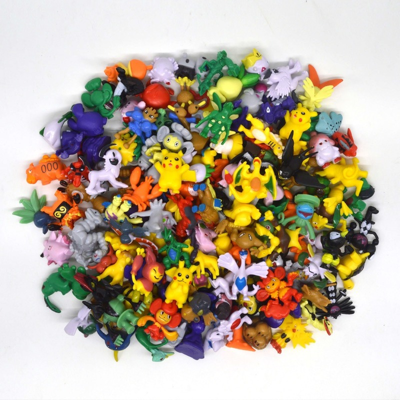 144PCS NO Repeat Pokemon Dolls Action Figure Toys For Carta Takara Tomy Pokemones Figura Sets