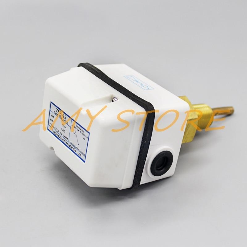 Totalmente sellado ZFS-15 ZFS-20 ZFS-25 AC125V 15A 250V 7.5A SPDT G1/2