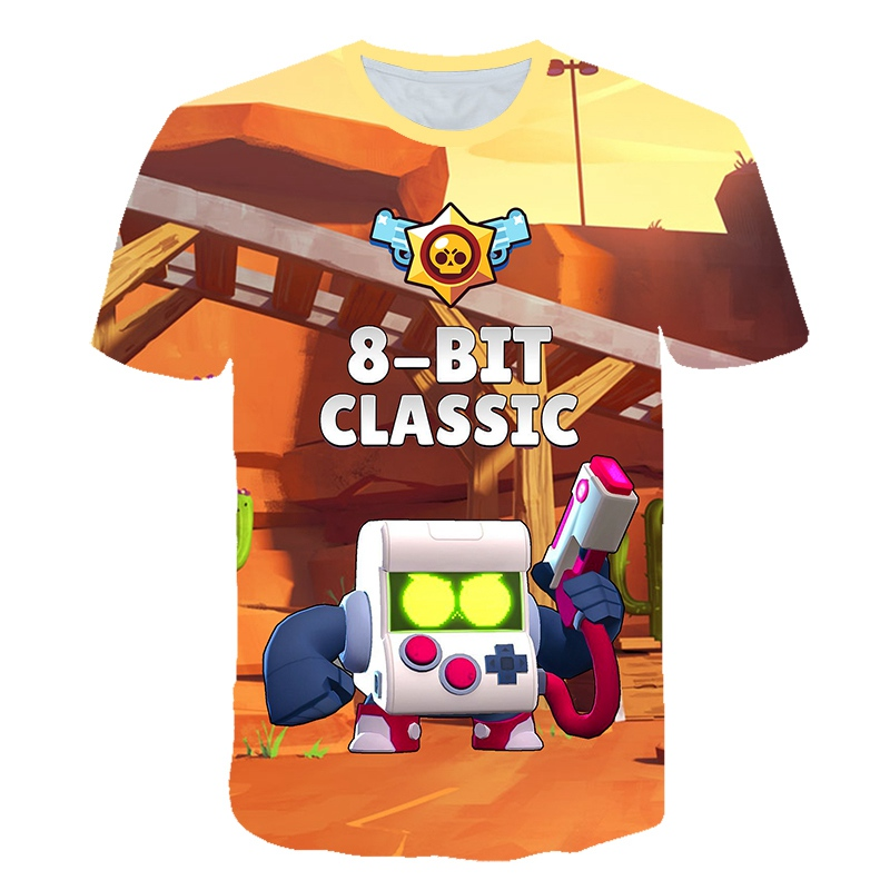 2019 Summer New Shooting Game T-shirt 3D Printed  Boy Girl Funny T-shirts Costume Children Clothing Kids Tees Baby 4 - 12 Year