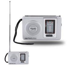 Barato nuevo modelo de portátil Radio portátil Fm Mini Digital Vintage Radio altavoz Mp3 jugador