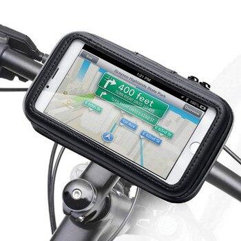 Waterproof Bike Phone Case Bag Bicycle Motorcycle Phone Holder for iPhone Xs Xr X 8 7