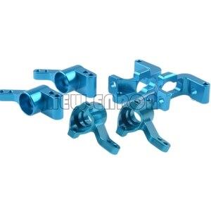 Image 1 - NEW ENRON 6P Metal 101208 101209 Steering Front&Rear Hub Carrier Knuckle Set For Rc 1/10 HPI WR8 3.0 Flux KEN BLOCK Bullet ST MT