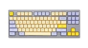 Image 4 - SA profile Dye Sub Keycap Set PBT plastic lily beige purple  for mechanical keyboard beige grey cyan gh60 xd64 xd84 xd96 87 104
