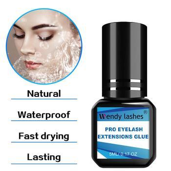 2 Second Fast Drying Strong False Eye Lash Extension Glue Adhesive Retention 5-7 Weeks Low Smell Mink Eyelash Glue недорого