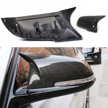 1 Pair Rearview Mirror Cover Cap ABS for BMW Series 1 2 3 4 X M 220i 328i 420i F20 F21 F22 F23 F30 F32 F33 F36 X1 F87 E84 X1 M2 universal replacement carbon fiber mirror cover for bmw rearview door mirror covers x1 f20 f22 f30 gt f34 f32 f33 f36 m2 f87 e84