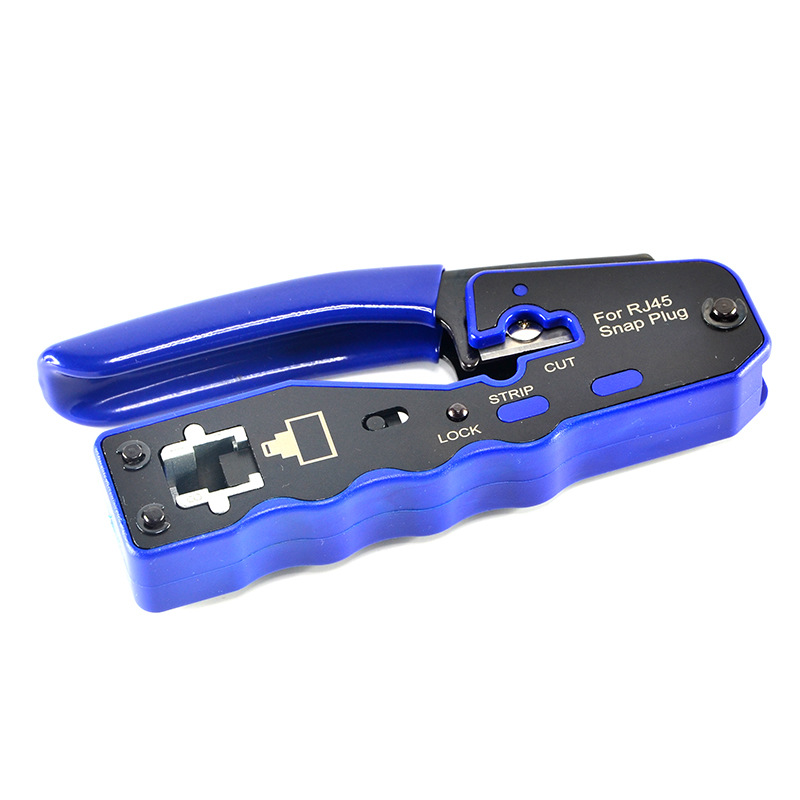 8P8C RJ45 câble sertisseur Ethernet connecteur perforé réseau outils de sertissage pince à dénuder