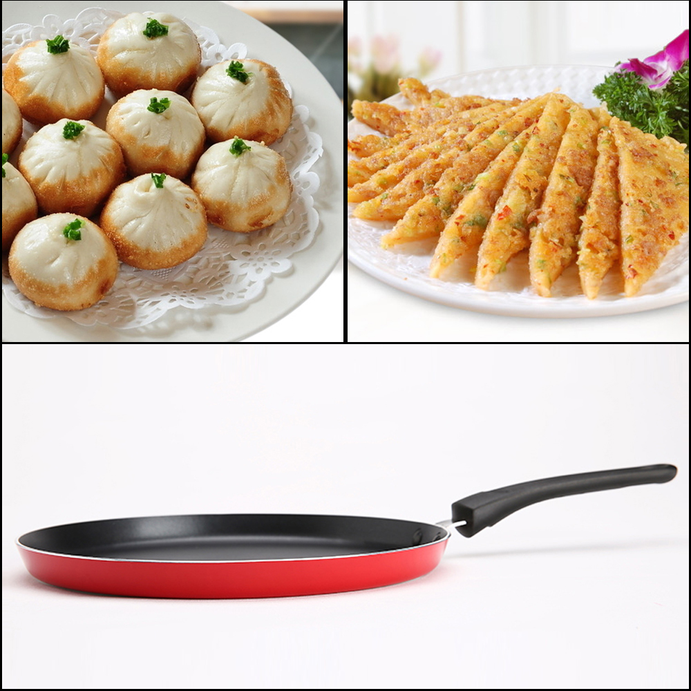 24cm Non-Stick Frying Crepe Pan  2
