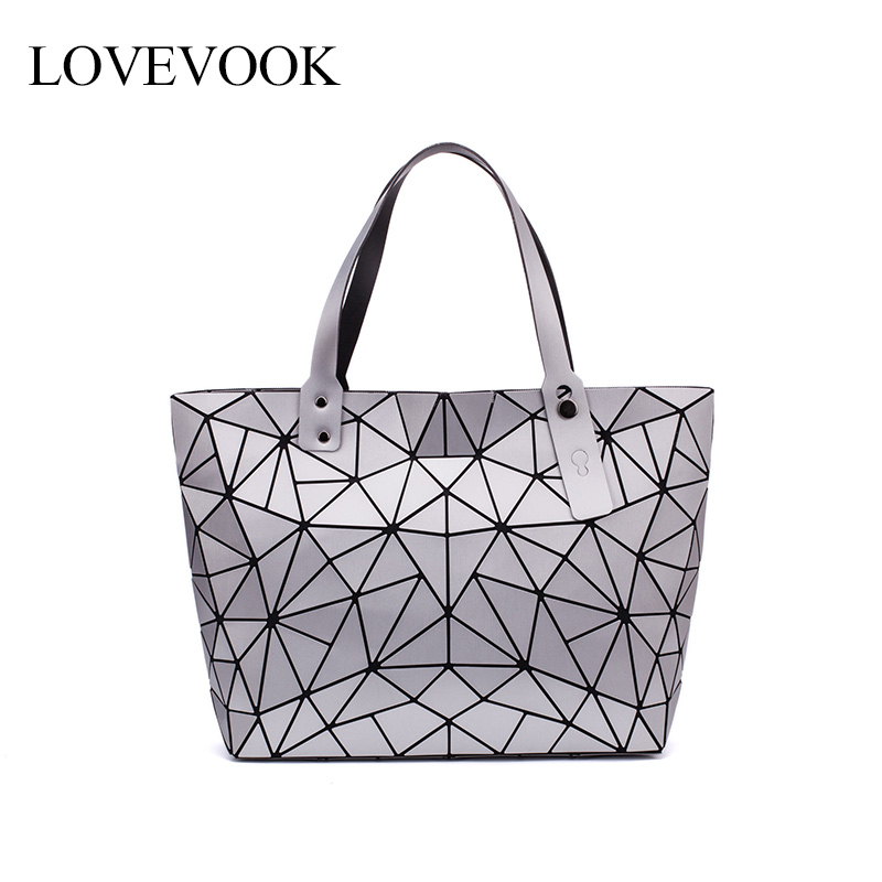LOVEVOOK Women Shoulder Bags Large Capacity Foldable Totes Female Luxury Handbags Women Bags Designer Fashion Geometric Bags