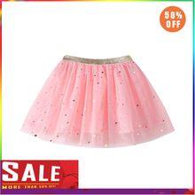 Модная детская юбка-пачка принцессы с блестками и звездами для танцев вечерние балетные юбки пачки для детей из шифона