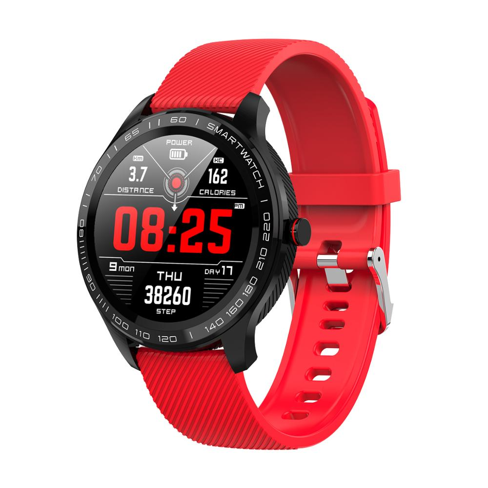 L9 Smart Watch ECG Heart Rate Calls Reminder Full Touch <font><b>Smartwatch</b></font> IP68 Waterproof Watch Men For Android IOS PK <font><b>L7</b></font> image