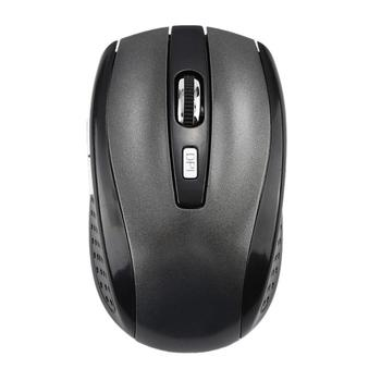 2.4GHz Wireless Cordless Optical Scroll Wheel 1600 Dpi Mouse Mice Ergonomic Mouse For PC Laptop Computer Hot In Sale - Gray, Spain