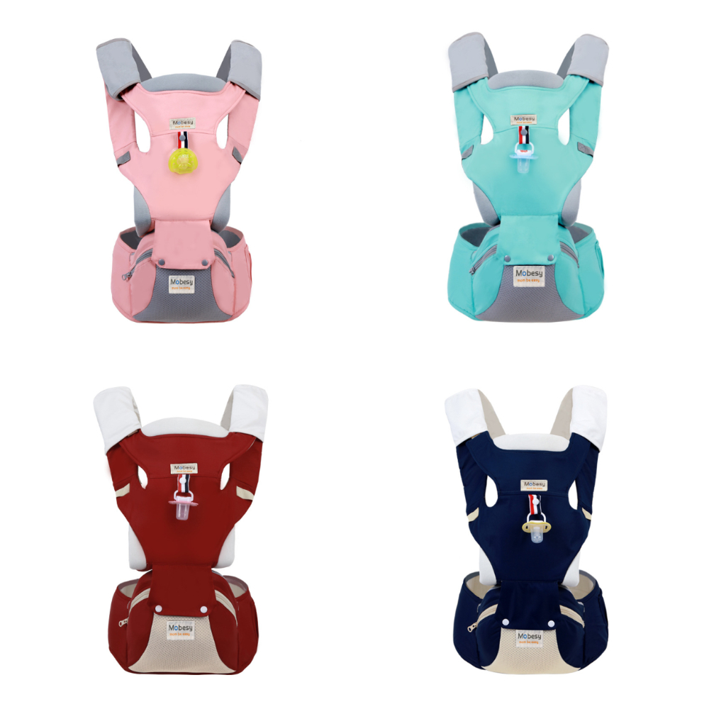 Ergonomic Baby Carrier Travel Waist Stool Multi-functional Four Seasons General Child Holding Style Children's Hold Back Stool