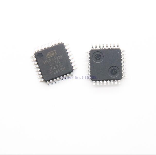Atmega328p-au Atmega328p 328 Mega328 Tqfp32 Microcontroller Qfp Ic Qfp32 Chip Atmega328