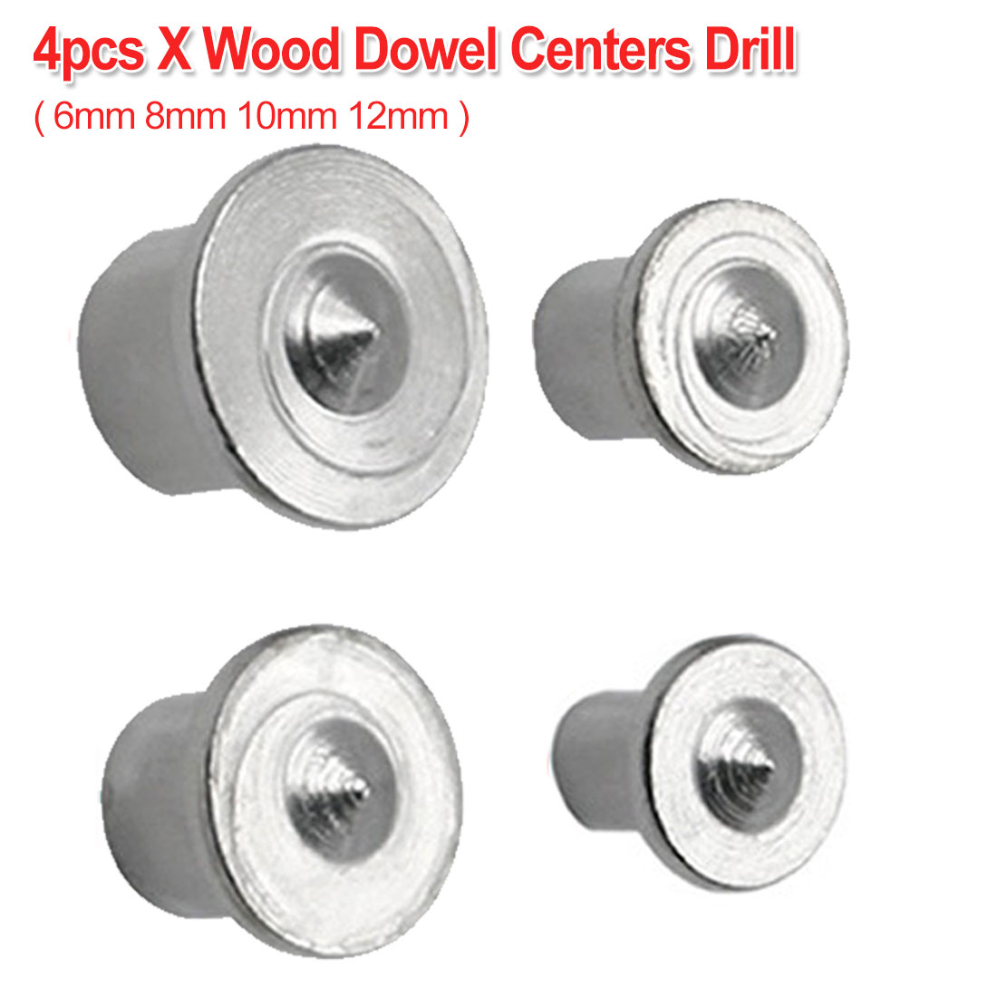 4pcs 6mm 8mm 10mm 12mm Center Dowel Tenon A3 Material Point Set Tool Joint Alignment Pin Dowelling Hole Wood Timber Marker