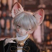 Nouveauté Shuga fée Moli 1/4 poupée BJD MSD résine jouets pour filles garçons Surprise cadeau Anime Figure modèle de mode chat garçon