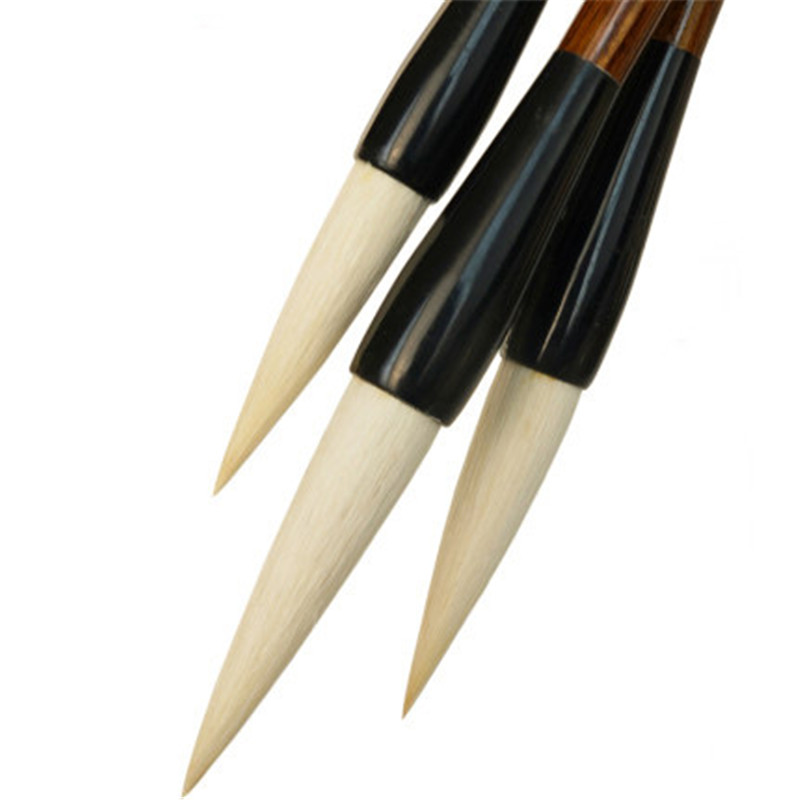 Soft hair Chinese brush pen yanghao maobi art brushes pens for writing painting calligraphy woolen writing brush 1pc