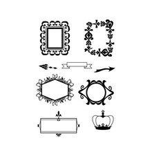 Naifumodo Dies Frame Metal Cutting Dies New 2019 for DIY Scrapbooking Craft Card Embossing Die Cut New Template Stencil накладка декоративная эпоха germanella золотая
