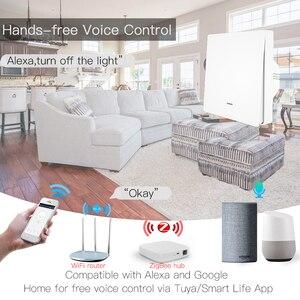 Image 2 - Interrupteur 3.0 boutons et boutons pour luminaire Tuya ZigBee Hub requis, télécommande avec application Smart Life, fonctionne avec Alexa et Google Home