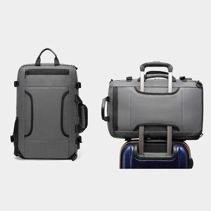 Image 4 - Iş sırt çantası erkek Su Geçirmez Oxford Crossbody Çanta 17 inç Bilgisayar Dizüstü Bilgisayar Çantası Açık Dayanıklı seyahat sırt çantaları XA277ZC