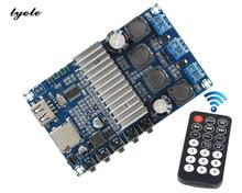 TPA3116 Bluetooth 4.2 amplifier board call  audio reception U disk TF card playback FM radio tone EQ decoding