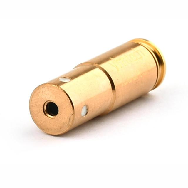 Mini Red Laser Bore Sighter, Cartridge Laser Tactical Red Dot Boresighter Hunter Tool, High Quality 380ACP Rifle Gun Bore Sight