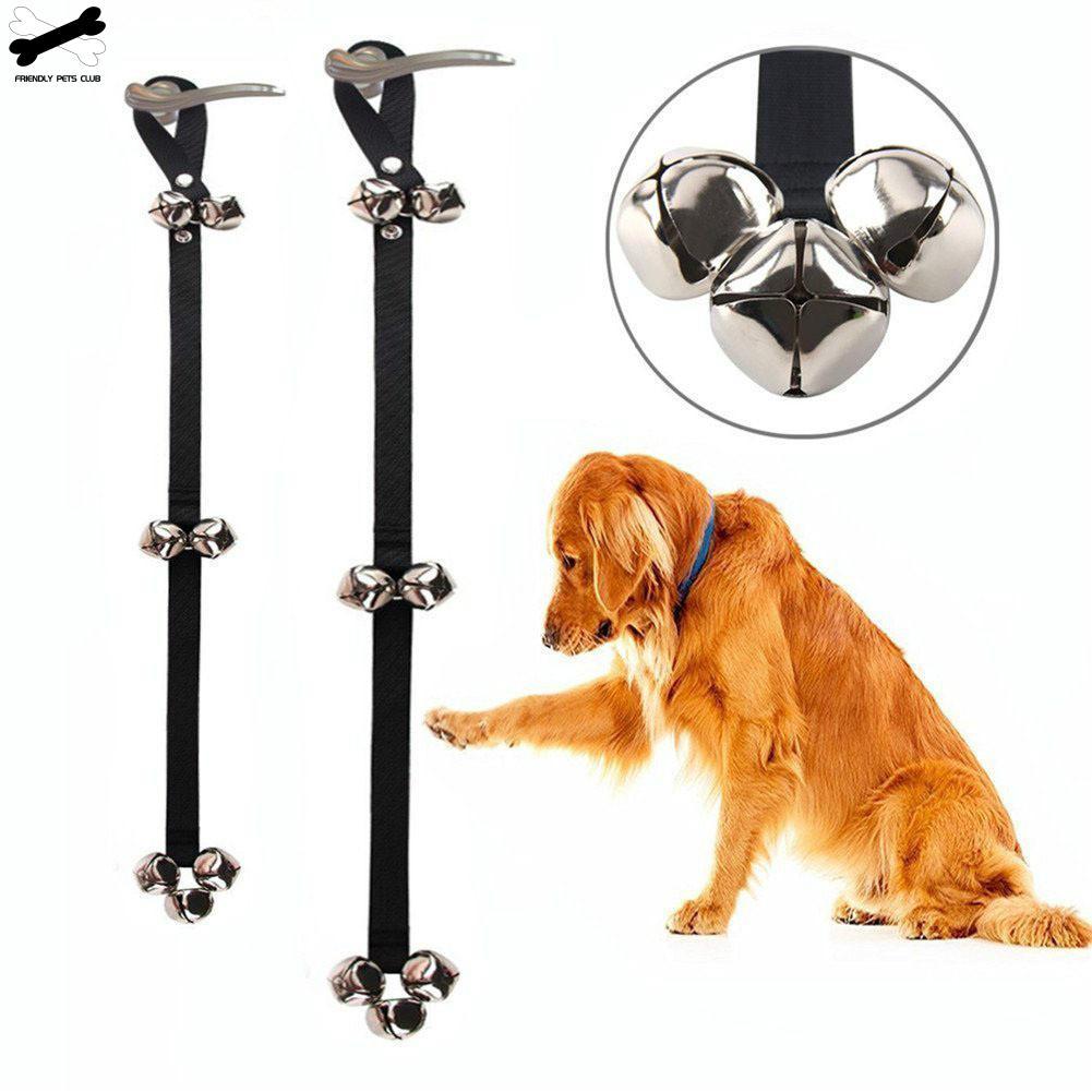 Pet Dog Training Dogs Doorbell Adjustable Rope Housetraining Communicate Alarm Clicker Training For Small Medium Large Pet Dog-0