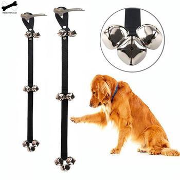 Pet Dog Training Dogs Doorbell Adjustable Rope Housetraining Communicate Alarm Clicker Training For Small Medium Large Pet Dog