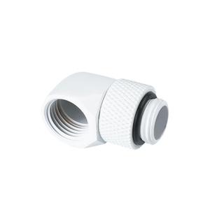 """AegirX MOD черный, серебристый, белый G1/4 """"90 градусов поворотный pc адаптер для водяного охлаждения вращающиеся адаптеры"""