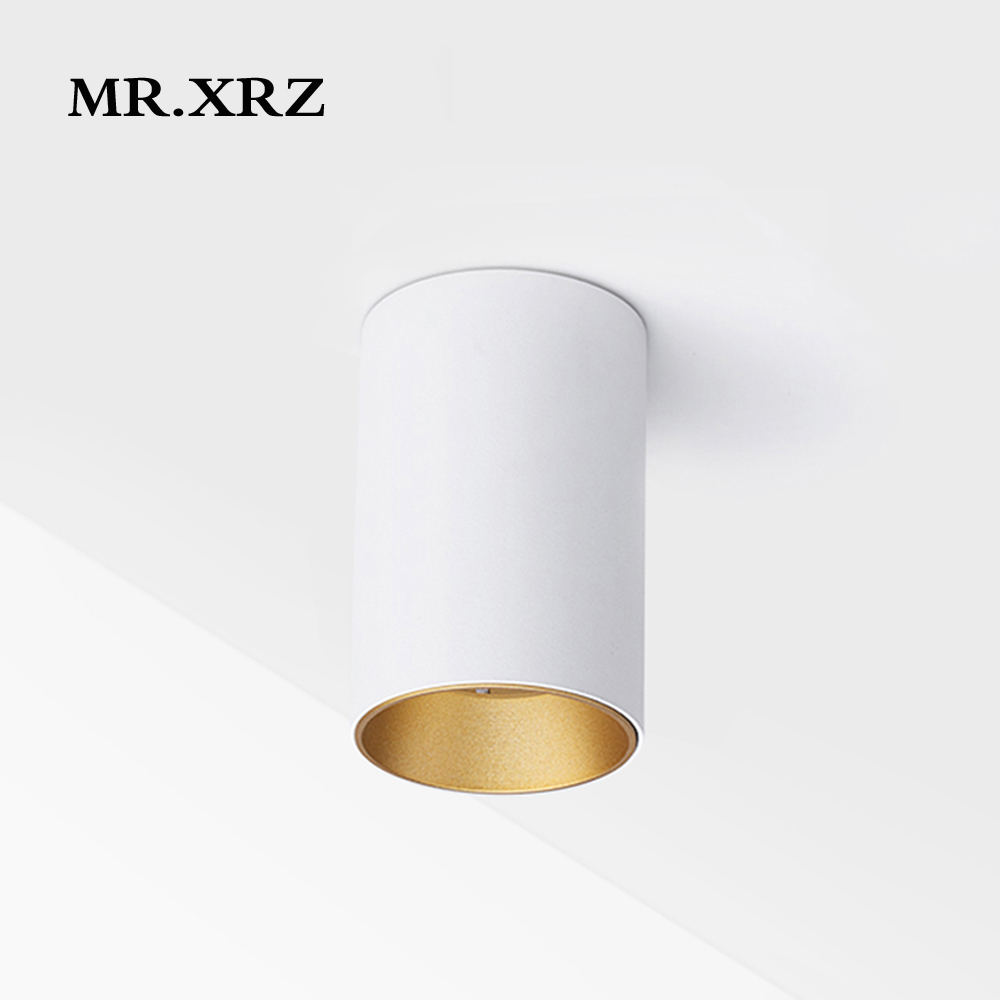 MR XRZ 10W Mini COB LED Spotlight 220V to 240V Surface Mounted Anti Glare High CRI Lamps Ceiling Spots For Home Indoor Lighting