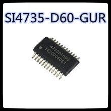 (2 шт.) SI4735-D60-GUR 4735D60GU SSOP24 RF/IF и RFID; РЧ сигнал приемника Новый и оригинальный