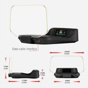 Image 5 - T2 HUD הראש למעלה תצוגה מראה ניווט אבחון כלים מחוון אור שעון רכב מהירות ערפל אור 2021 עבור טסלה דגם 3