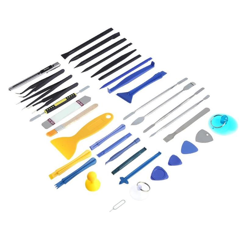 37 in 1 Repair Opening Steel Disassembly Maintenance Tool Kit for Smart Phone Notebook Tablet Professional screwdriver New