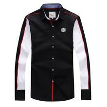Мужская Утепленная хлопковая рубашка Eden, модная Повседневная рубашка с длинным рукавом, большой размер 3XL, для парка
