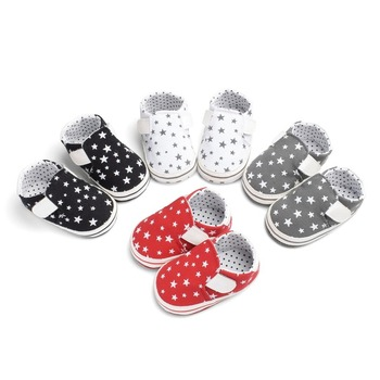 newborn baby moccasins toddler boy girl infant baby shoes PU Leather Sequin  0-18M Soft Soled Non-slip Crib  cotton First Walker