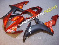 Motorcycle orange black Fairings For Yamaha YZF R1 2002 2003 YZF1000 02 03 YZF R1 cowling body kit (Injection molding)