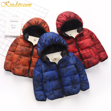2019 Boys Coat Winter Jackets For Boys/Girls Cotton Down Coat Kids Hoodies Thick Outerwear Coat Children Winter Clothes DC182