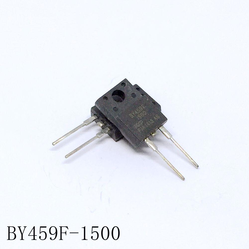 Rápida recuperación rectificadores BY459F-1500 12A/1500V TO-220F-2 10 unids/lote