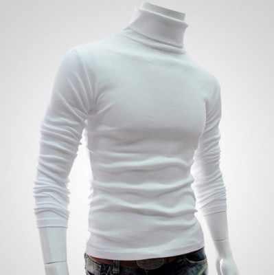 男性プルオーバータートルネック秋冬メンズセータースリム軽量長袖メンズカジュアルウールニットプルオーバーオム