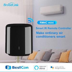 Image 1 - オリジナル Broadlink Bestcon スマートホーム RM4C ミニ無線 Lan + Ir + 4 グラムリモコン Eu プラグワイヤレスコントローラの仕事 alexa のため Google ホーム