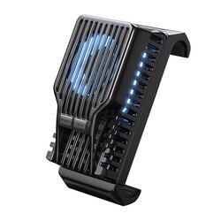 Novo refrigerador do telefone móvel para o iphone 7 6x8 6 s mais samsung xiaomi jogo de refrigeração dissipador calor áudio adaptador de radiador auxiliar