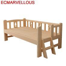 Детское мобильное детское гнездо Litera Ranza из дерева Chambre Yatak деревянные Muebles Cama Infantil мебель для спальни с подсветкой Enfant детская кровать