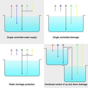 Image 5 - DF 96ED Mực Nước Tự Động Điều Khiển Công Tắc 20A 220V Nước Mức Chất Lỏng Cảm Biến Phát Hiện Máy Bơm Nước Bộ Điều Khiển 2M dây Điện