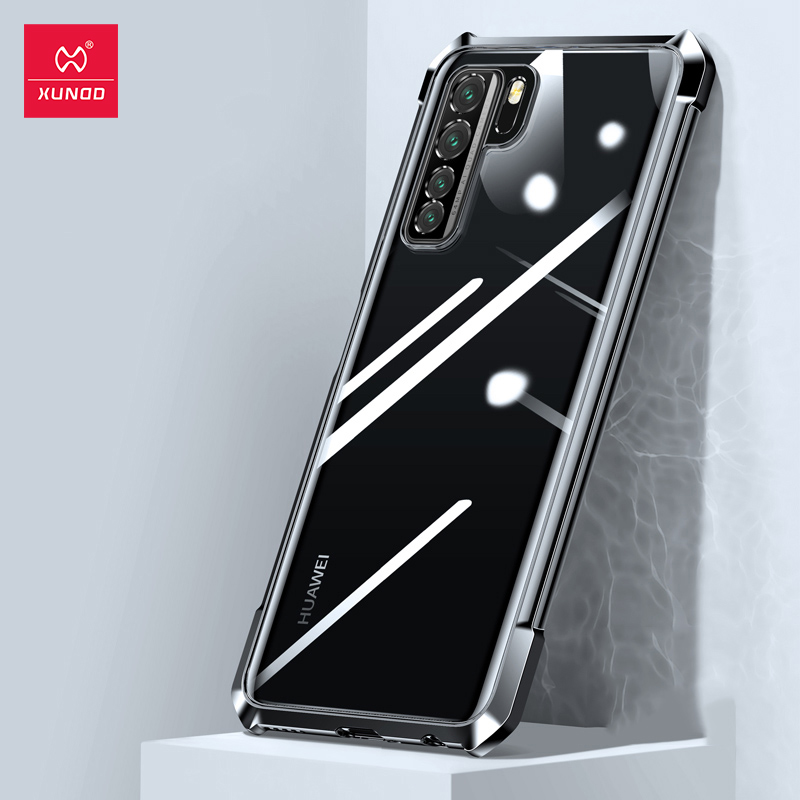 Xundd Case For Huawei P40 Lite 5G Case Shockproof Transparent Glove Glass Phone Cover Airbags Soft Case For Huawei P30 40 Pro Phone Case & Covers  - AliExpress