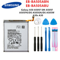 Bateria original samsung EB-BA505ABN EB-BA505ABU mah  bateria para samsung galaxy a50 a505f 4000 a505fn/ds/gn a505w a30s a30 + ferramentas