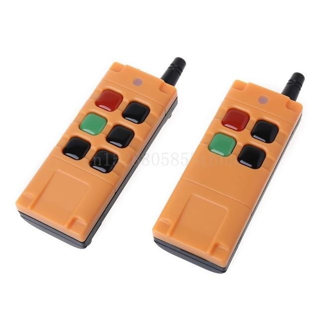 AK G06T Factory Supply High Grade Remote Control 315/433MHZ Wireless Industrial Crane Truck Remote Controller 4/6 Button Keys