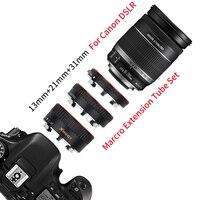 Красно-металлическое Удлинительное Кольцо SHOOT ttl для Canon 600D 550D 200D 800D EOS EF EF-S 6D, аксессуары для камеры Canon 2