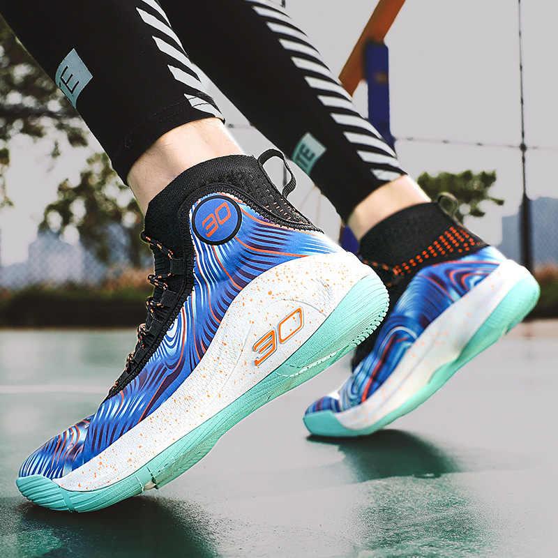 2021สไตล์ใหม่รองเท้าบาสเก็ตบอล Anti-Slip Professional ผู้ชายผู้หญิงรองเท้าผ้าใบ Breathable Outdoor Trainer รองเท้าผ้าใบคู่